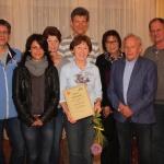 Eine große Stütze im Verein. TV Weismain ehrt Helga Fischer zum 70. Geburtstag mit der Ehrenmitgliedschaft