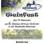 Weinfest am 06.10.2018 ab 19:30 Uhr